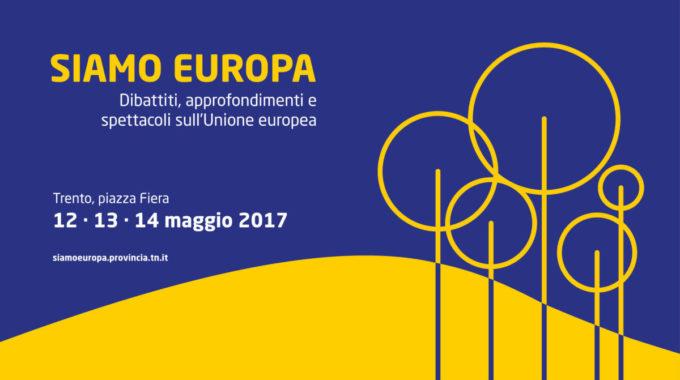 SIAMO EUROPA Festival Sull'Unione Europea
