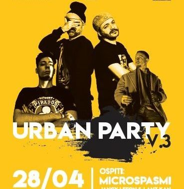 Urban Party Vol.3 – 28/04, Ala – Parco Bastie
