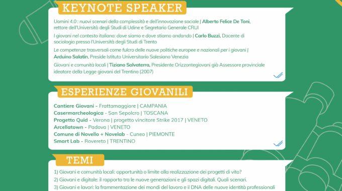 """Seminario – """"I Giovani E La Costruzione Di Voice"""""""
