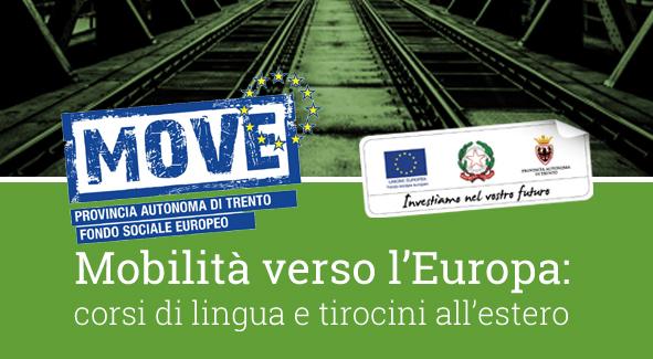 MoVE – Mobilità Verso L'Europa. Aperte Le Adesioni Per Tirocini Formativi All'estero