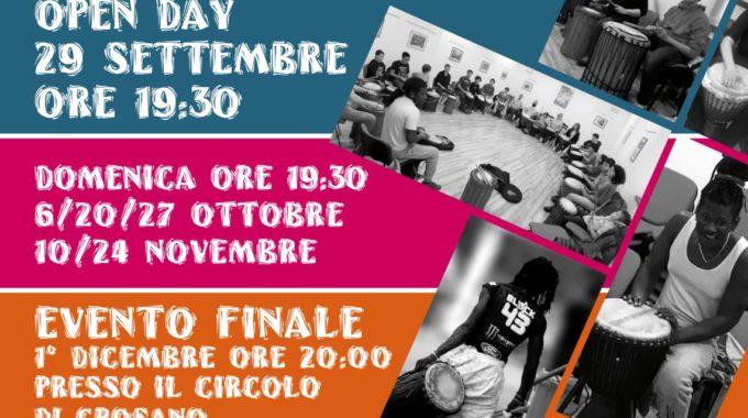 Laboratorio Di Percussioni Africane In Partenza A Crosano – Brentonico!