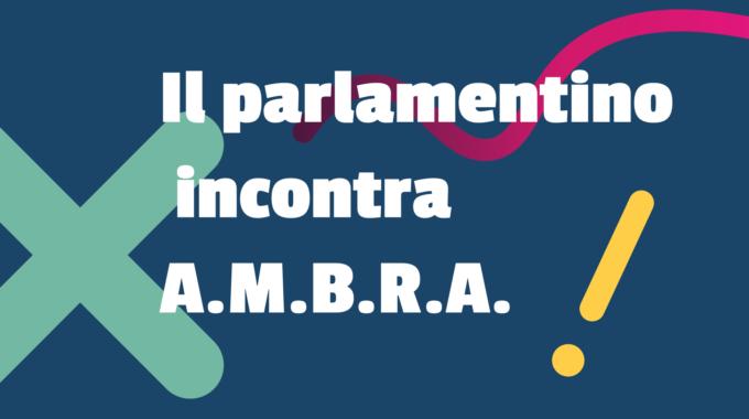 Il Parlamentino Degli Studenti Di Avio Incontra A.M.B.R.A.