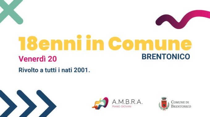 Venerdì: 18enni In Comune A Brentonico